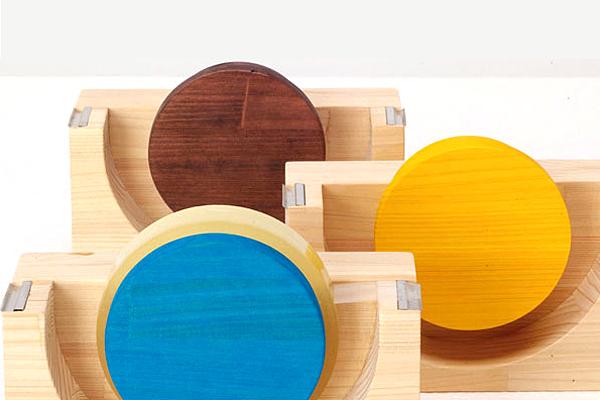 木製テープカッター「HINOKI」の画像