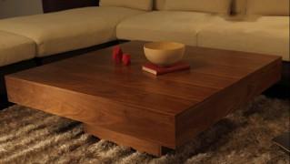 おしゃれローテーブル「Lacca」の画像