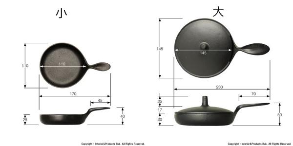 ミニパンの寸法が書かれている画像