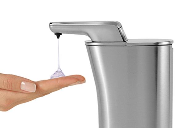 洗剤が出ている画像
