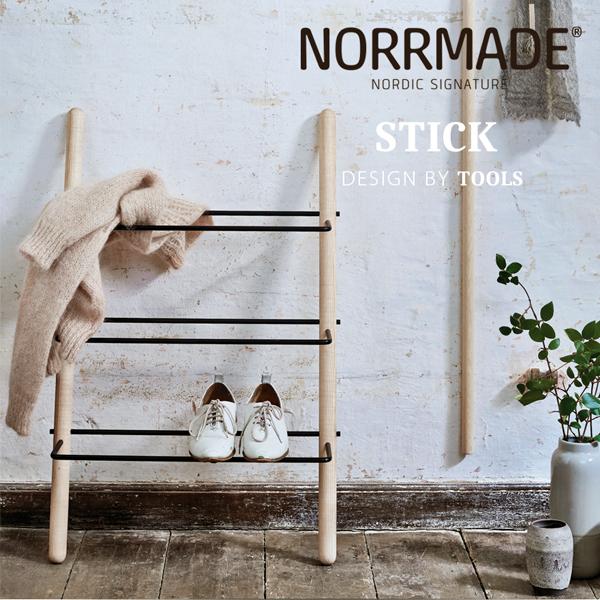 おしゃれなシューズラック「stick」の画像