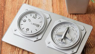 おしゃれ置き時計「ワールドタイムクロック」の画像