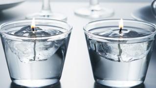 氷型のおしゃれキャンドル「BURNICE」の画像