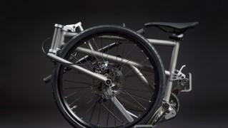 軽量折りたたみ自転車「helix」の画像