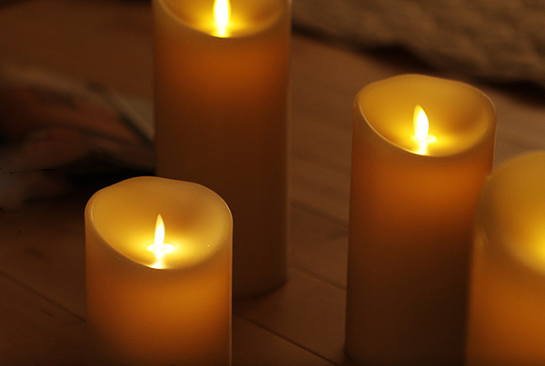 LEDゆらぎキャンドル「ルミナラ」の画像