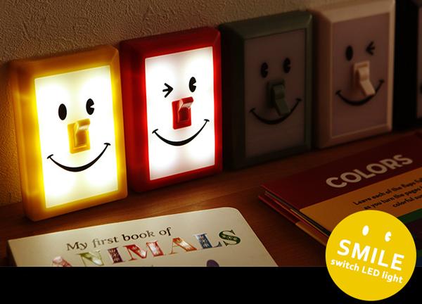 可愛いLEDライト「Smile Switch」の画像