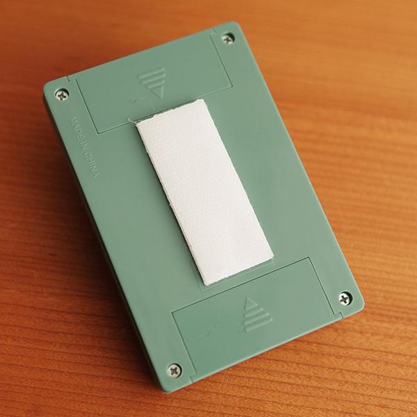 付属の面ファスナーテープの画像