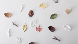 おしゃれな箸置き「葉枝おき」の画像