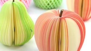 かわいいメモ用紙「ディーブロス フルーツメモ」の画像