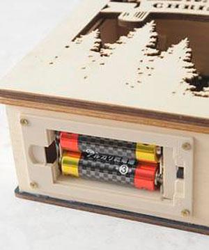 電池を入れる部分の画像