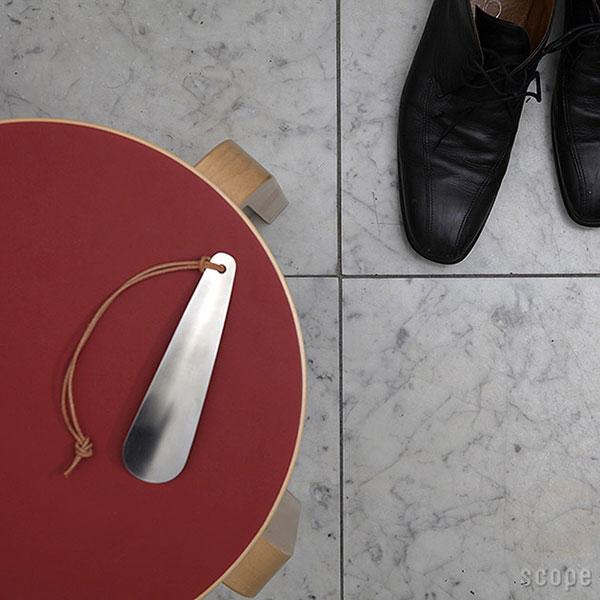 おまけのアルミ製靴ベラの画像