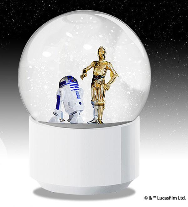 R2-D2&C-3POのスノーグローブ画像