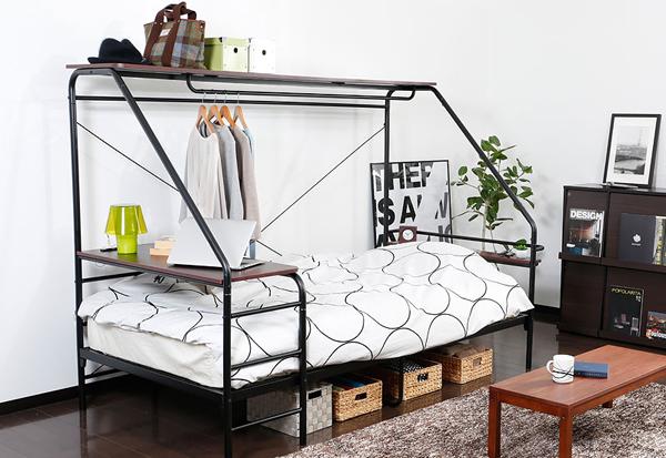ベッドを部屋に設置したイメージ画像