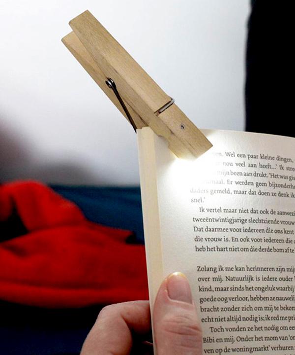 読書用ライト「クリップライト」