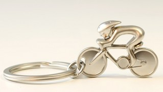 自転車型キーホルダー「トライアスロンキーホルダー」の画像