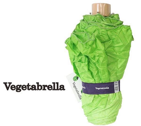 レタスの折りたたみ傘「ベジタブレラ」