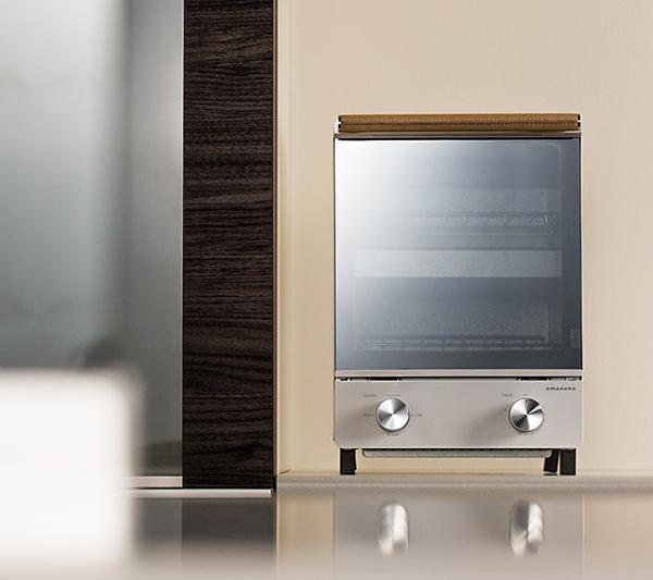 amadanaトースターをキッチンに置いた画像
